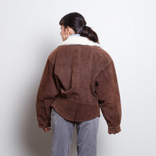 Load image into Gallery viewer, 90s Leather Bomber Jacket