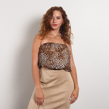 Load image into Gallery viewer, Cheetah Print Tube Top