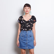 Load image into Gallery viewer, 90s Butterfly Crop Top
