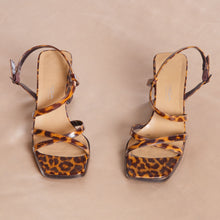 Load image into Gallery viewer, Leopard Print 90s High Heels