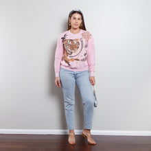 Load image into Gallery viewer, 80s Tropical Tiger Sweatshirt