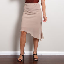Load image into Gallery viewer, Asymmetrical Midi Skirt