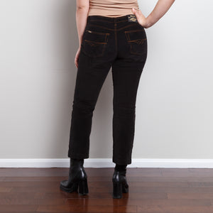 Corduroy Studded Flair Pants