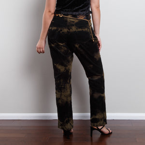 High Waisted Tie Dye Pant