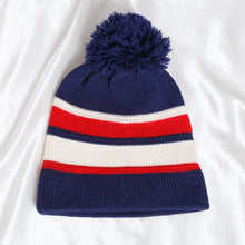 Load image into Gallery viewer, 90s Striped Blue Hat