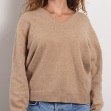 Load image into Gallery viewer, Cozy Beige Cashmere Sweater