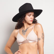 Load image into Gallery viewer, Silky Pale Pink Bralette