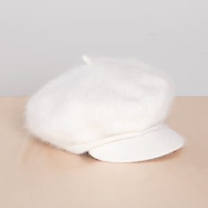 Angora and Wool Fisherman's Cap
