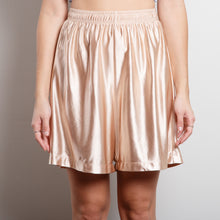 Load image into Gallery viewer, High Waisted Satin Shorts