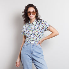 Load image into Gallery viewer, Vintage Disco Flower Shirt