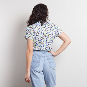 Vintage Disco Flower Shirt