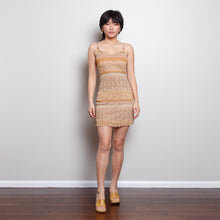 Load image into Gallery viewer, 90s Tan Dress