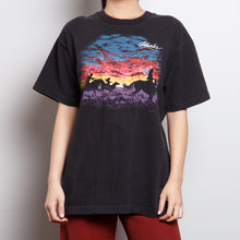 Load image into Gallery viewer, Single Stitch Western Sunset Graphic Tee