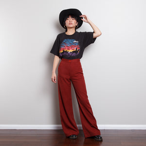 Single Stitch Western Sunset Graphic Tee