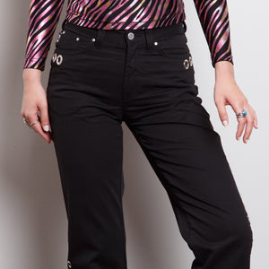 Italian Designer O-Ring Pants