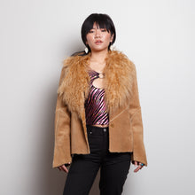 Load image into Gallery viewer, 90s Fur Guess Jacket