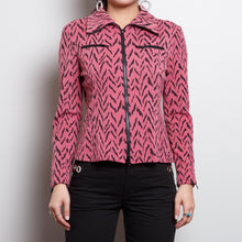 Load image into Gallery viewer, 90s Pink Tiger Print Jacket