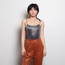 Load image into Gallery viewer, 90s Celestial Silver Tank Top