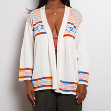 Load image into Gallery viewer, 70s Southwestern Wool Cardigan