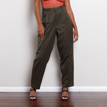 Load image into Gallery viewer, Vintage Forest Green Trousers
