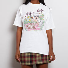 Load image into Gallery viewer, Fifi's Café Graphic Single Stitch Tee