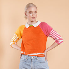 Load image into Gallery viewer, Italian Color Block Sweater