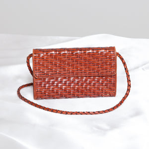 Woven Straw Purse