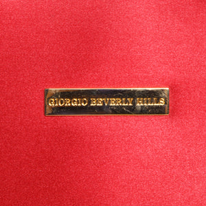 90s Giorgio Beverly Hills Red Handbag