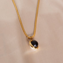 Load image into Gallery viewer, Gold and Pearl Earring and Necklace Set
