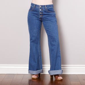 90s does 70s Bell Bottom Jeans