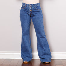 Load image into Gallery viewer, 90s does 70s Bell Bottom Jeans