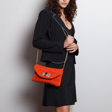 Load image into Gallery viewer, Orange Crossbody Clutch
