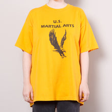 Load image into Gallery viewer, Single Stitch US Martial Arts T Shirt