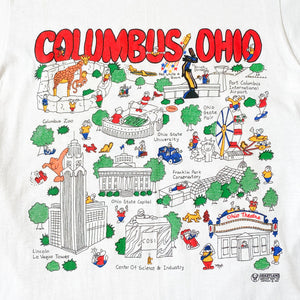 Single Stitch Columbus, Ohio T Shirt