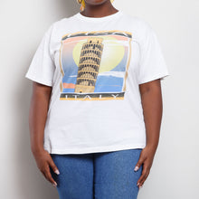 Load image into Gallery viewer, Single Stitch Leaning Tower of Pisa Graphic Tee