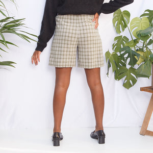 Vintage 90s Plaid Shorts