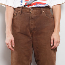 Load image into Gallery viewer, Vintage Brown 551 Levi's Jean