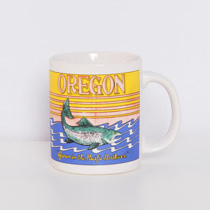 Vintage Oregon Coffee Cup