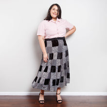 Load image into Gallery viewer, Vintage Patchwork Skirt