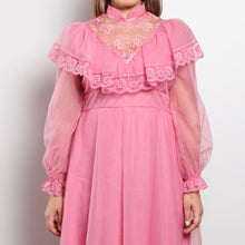 Load image into Gallery viewer, Vintage Pink Prairie Dress
