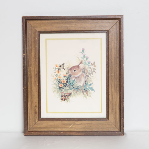Vintage Rabbit Wall Art