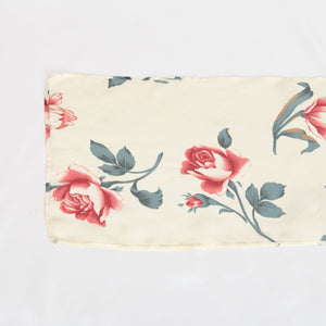Vintage Sheer Rose Scarf