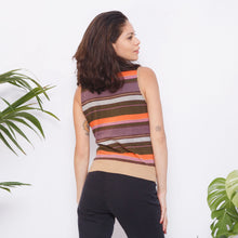 Load image into Gallery viewer, Vintage Sleeveless Turtleneck Sweater
