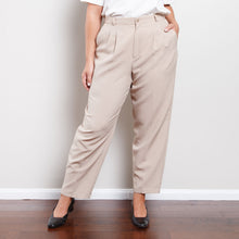 Load image into Gallery viewer, Vintage Tan Paperbag Trousers