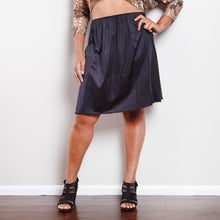 Load image into Gallery viewer, Vintage Vanity Fair Black Slip Skirt