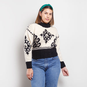 Vintage Wool Turtleneck Sweater