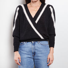 Load image into Gallery viewer, Vintage Wrap V Neck Sweater