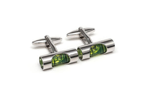 Level Tool Cuff Links