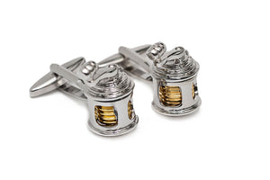 Fishing Reel Cuff Links
