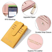 RFID Credit Card Holder Women Coin Purse Wallets Viconchic